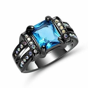 ‼️3 for 20$‼️Blue Crystal Ring